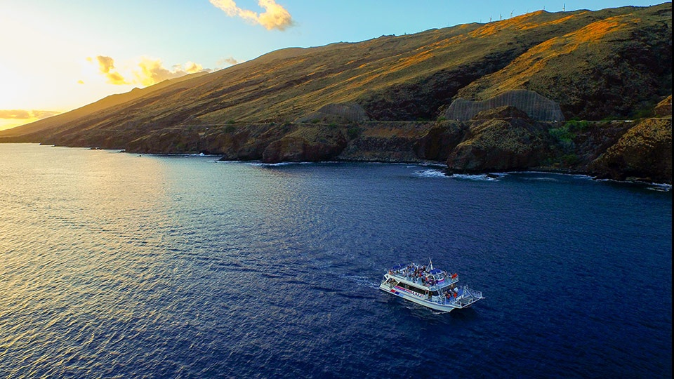 Pride Maui boat best sunset cruise