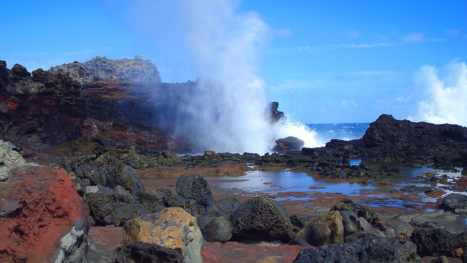 Best Maui Path Nakalele Blowhole Tour