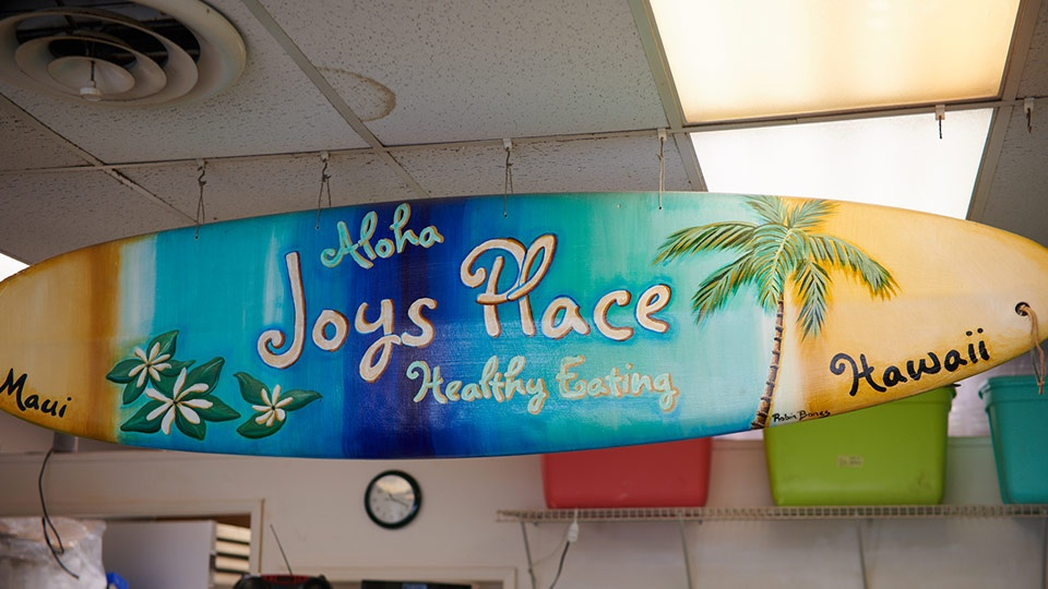 Best Maui Local Food Joys Place