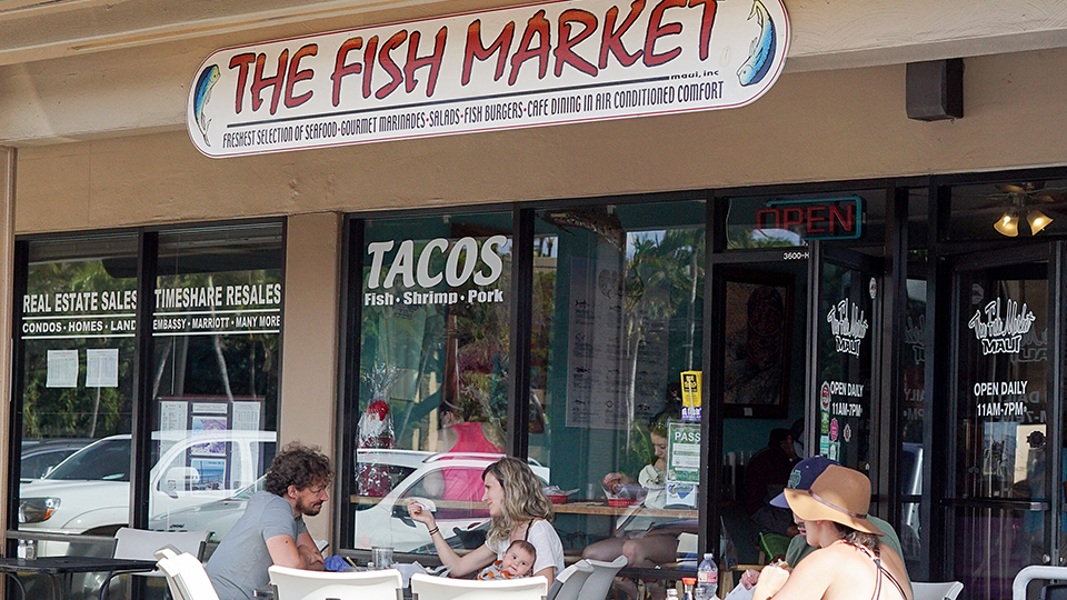 Best Maui Local The Fish Market