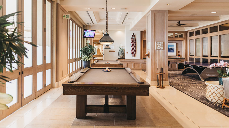 Four Seasons Maui Game Room
