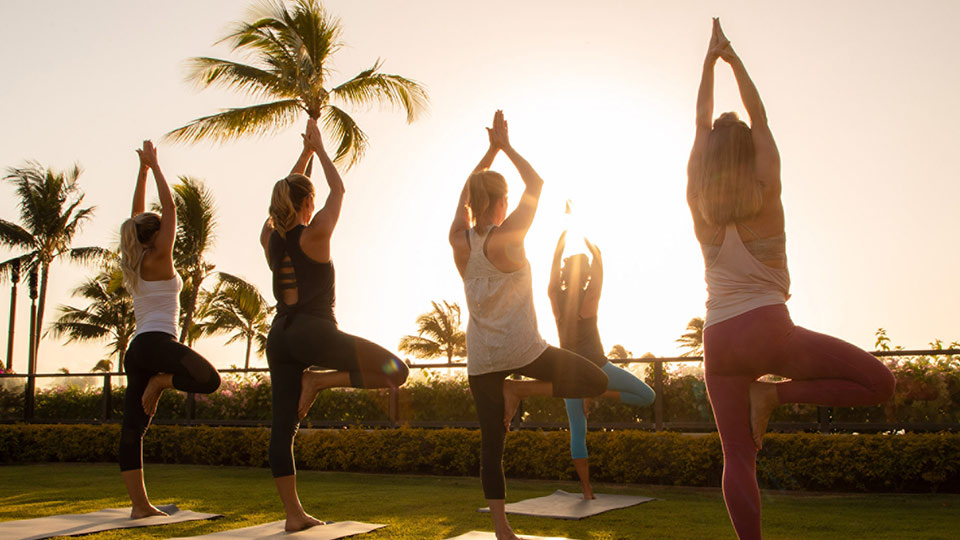 Four Seasons Maui Yoga