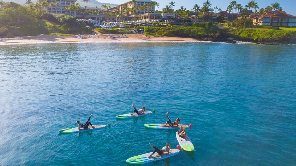 Four Seasons Maui Paddling