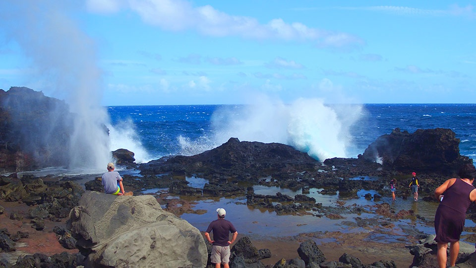 Nakalele Blowhole trail Tours Maui