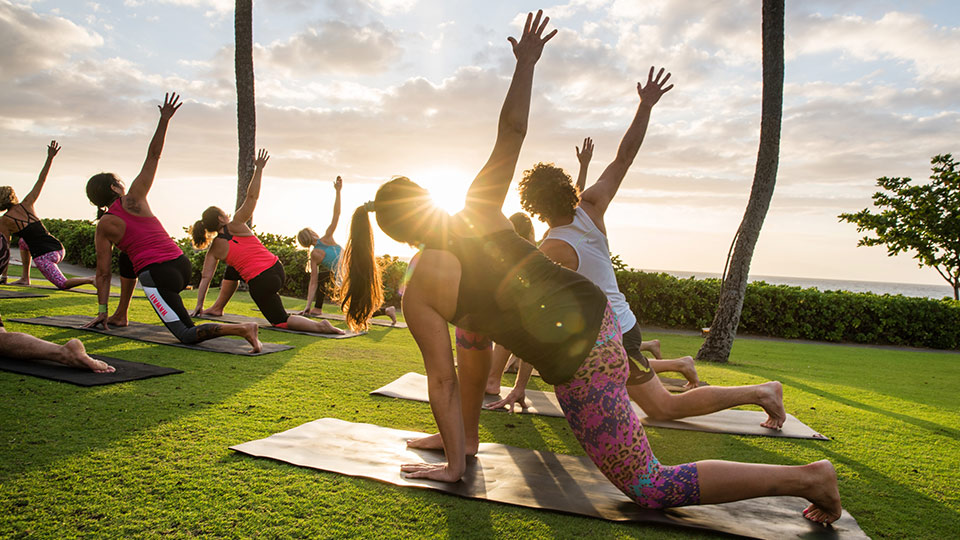 Best Maui Resort Yoga