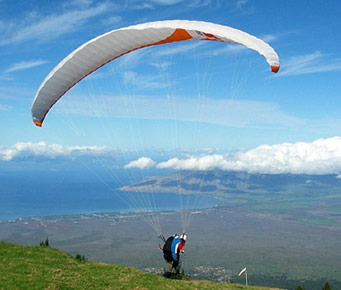 Best Haleakala Maui Activities Paragliding