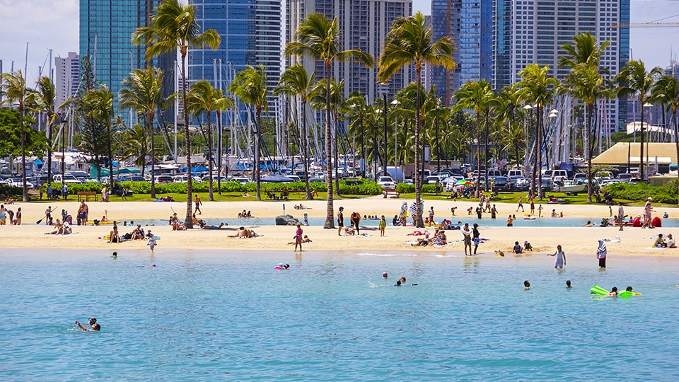 Best Hawaii Waikiki Beach Oahu
