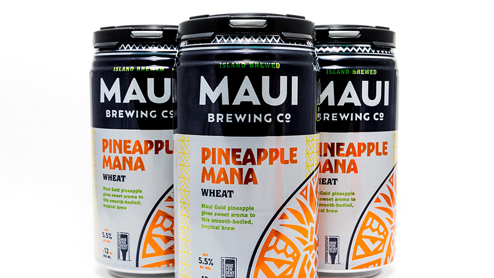 Pineapple Mana Wheat Maui Brewing Co. Hawaii