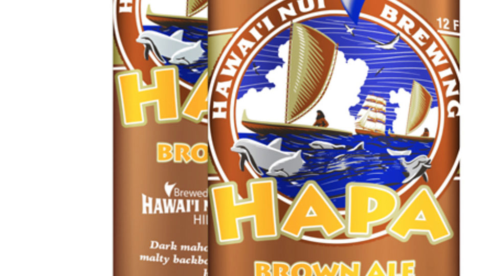 Hapa Brown Ale Hawaii Nui Brewing Co. Hawaii