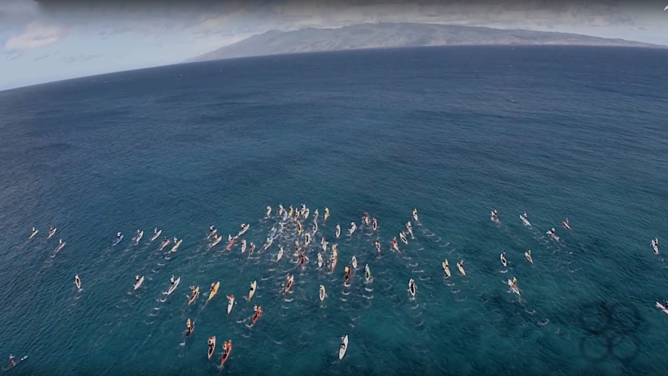 Best Maui Videos Molokai SUP Race