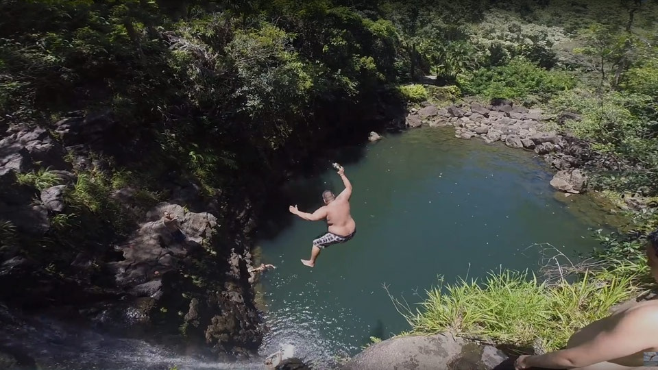 Best Maui Videos Cliff Jumping