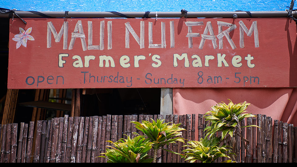 Best Locally Grown Maui Farmers Market