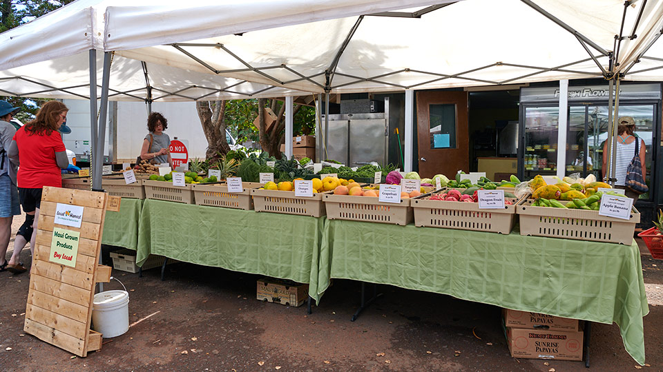 Best Hawaii Grown Food Market Napili
