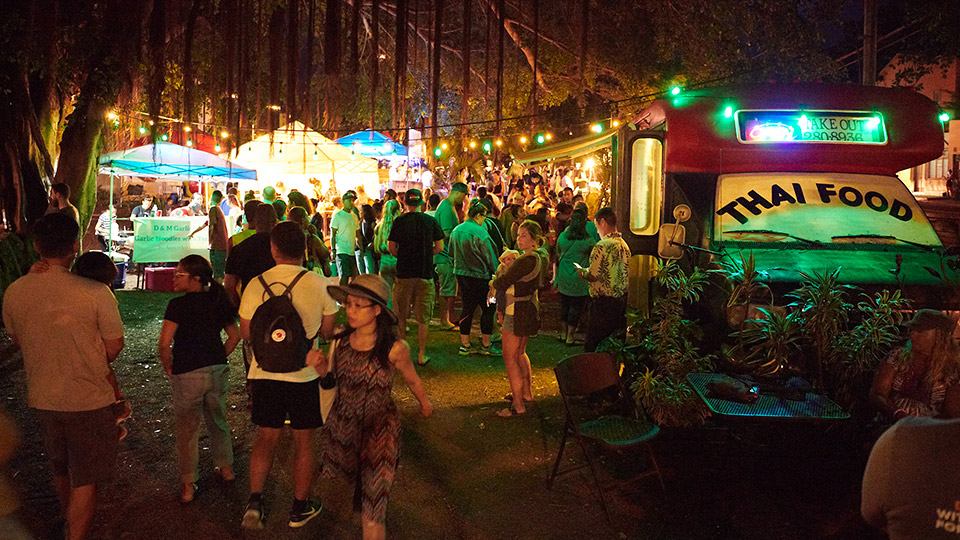 Best Maui After Dark Friday Town Party