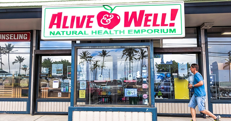Maui Best All Organic Alive Well