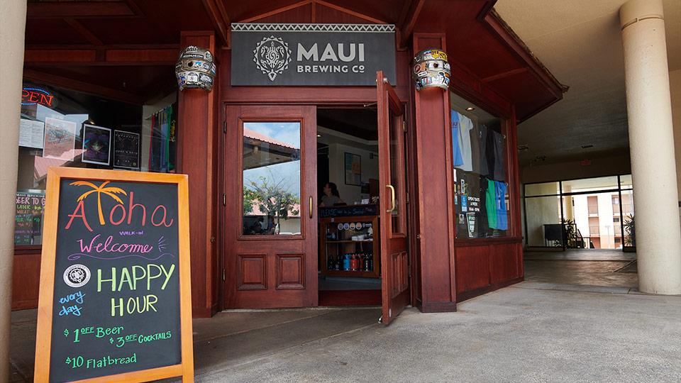 Maui Best Restaurants Brewing Company Kahana