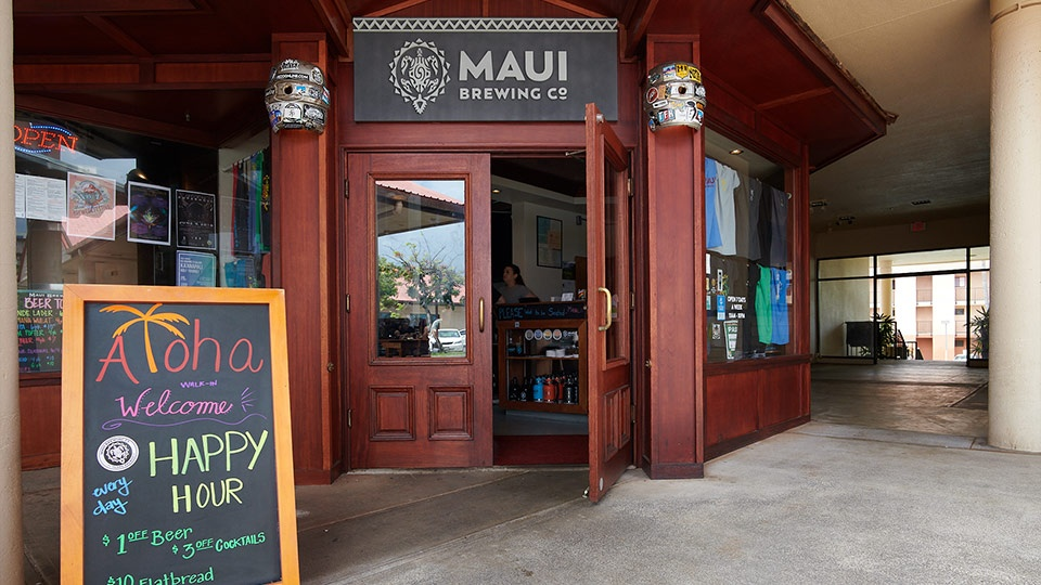 Napili Kapalua Activities Maui Brewing Co