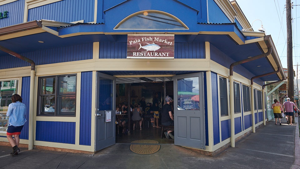 Best Maui Restaurant Paia Fish Market