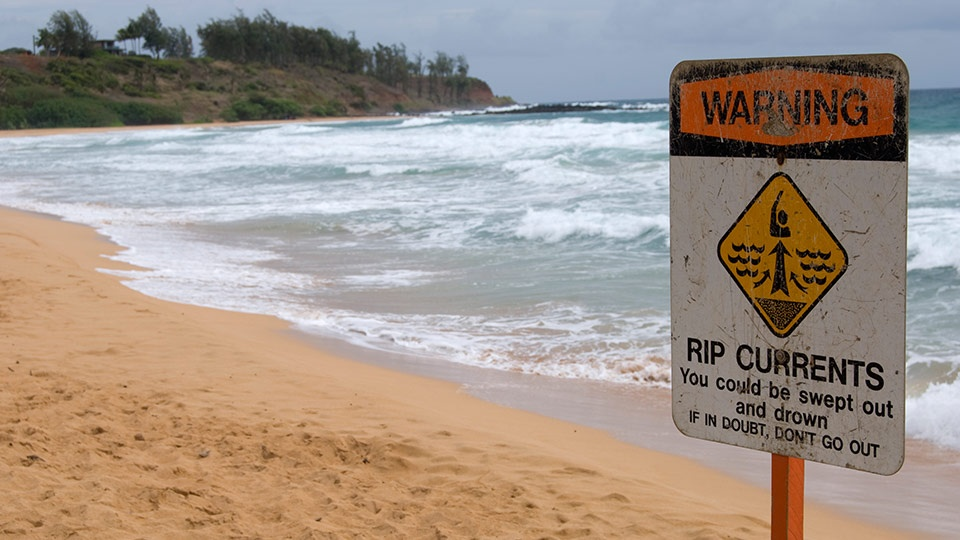 Maui Beach Safety Signage