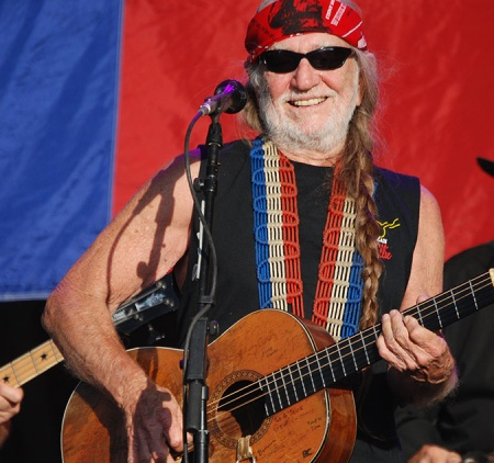 Top Maui Celebrity Willie Nelson
