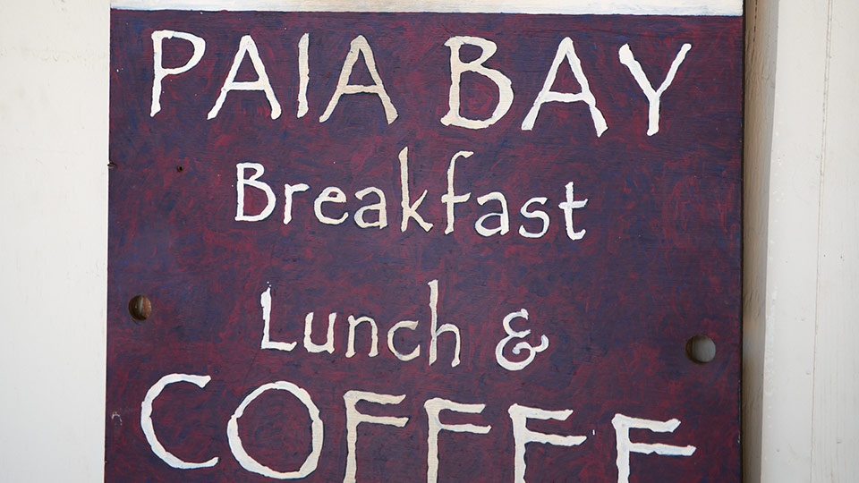 Best Maui Coffee Paia Bay