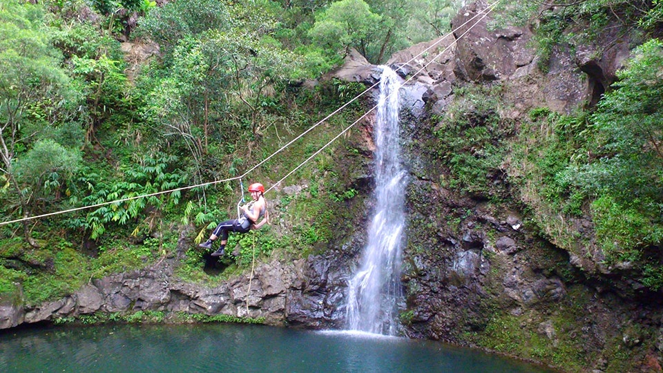 Best Maui Land Activities Rappel Waterfall