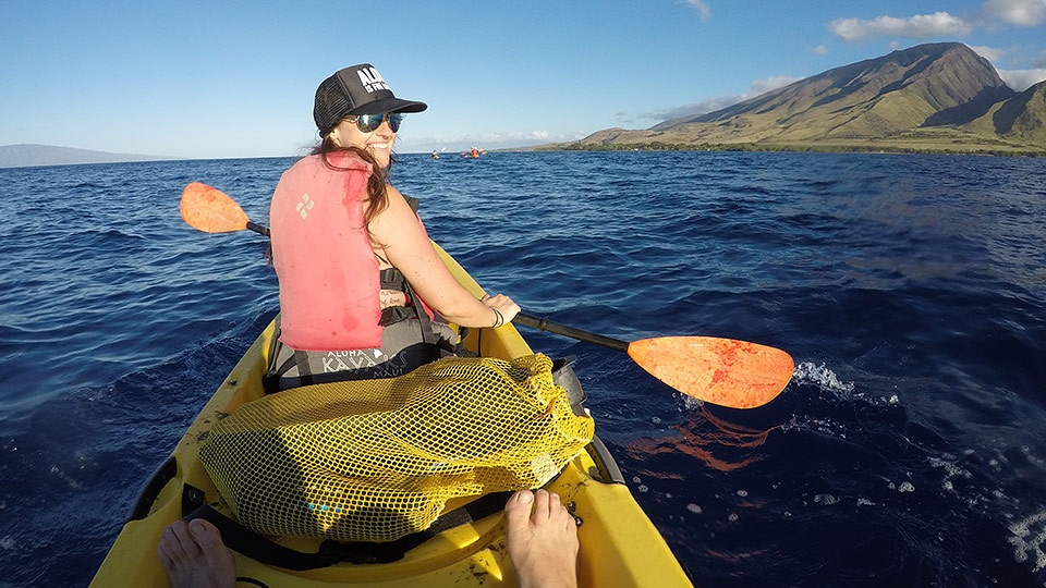 Best Kihei Activities Kayaking