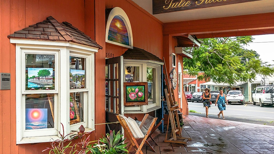 Best Upcountry Maui Activity Makawao Galleries Shopping