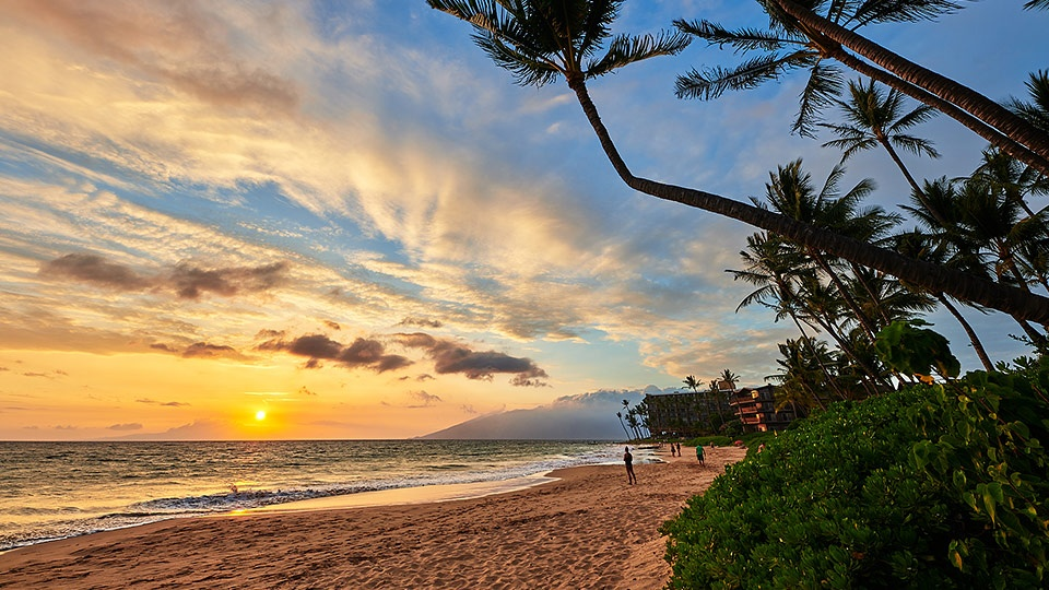 Best Wailea Keawakapu Beach Sunset