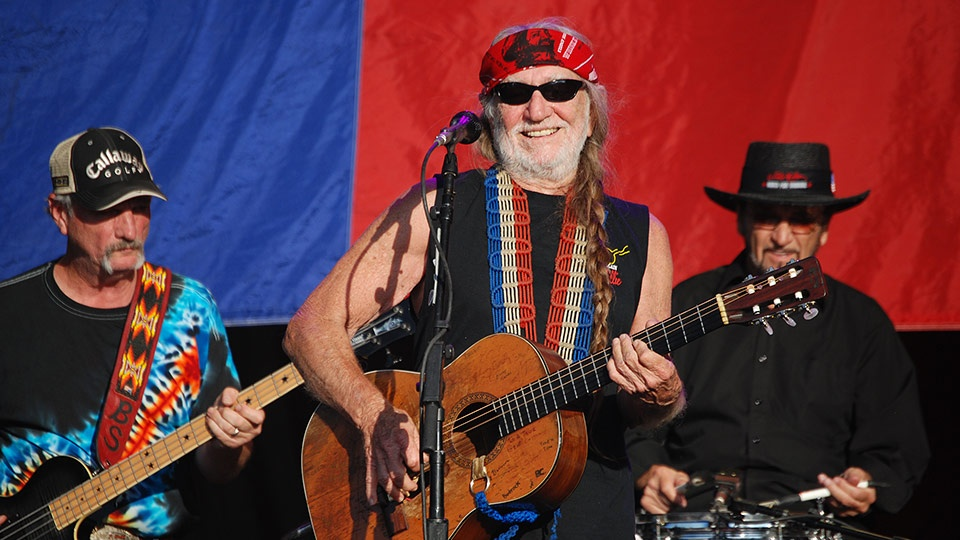 Top Maui Celebrities Willie Nelson