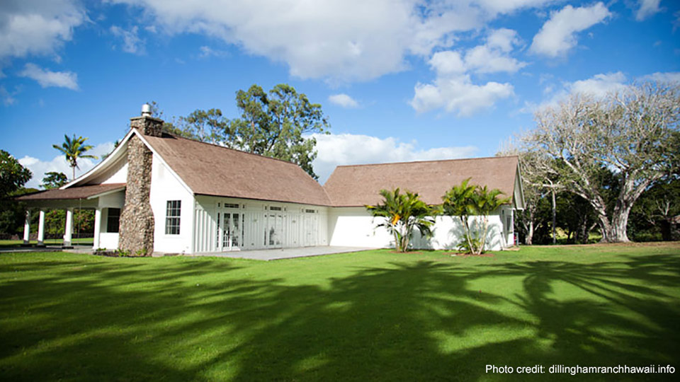 Dillingham Ranch Top Hawaii Wedding Location
