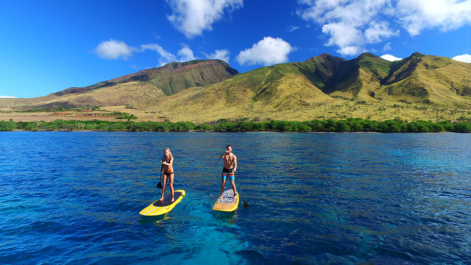 Best Maui Activities Stand Up Paddling