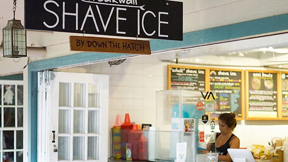 Best Maui Breakwall Shave Ice