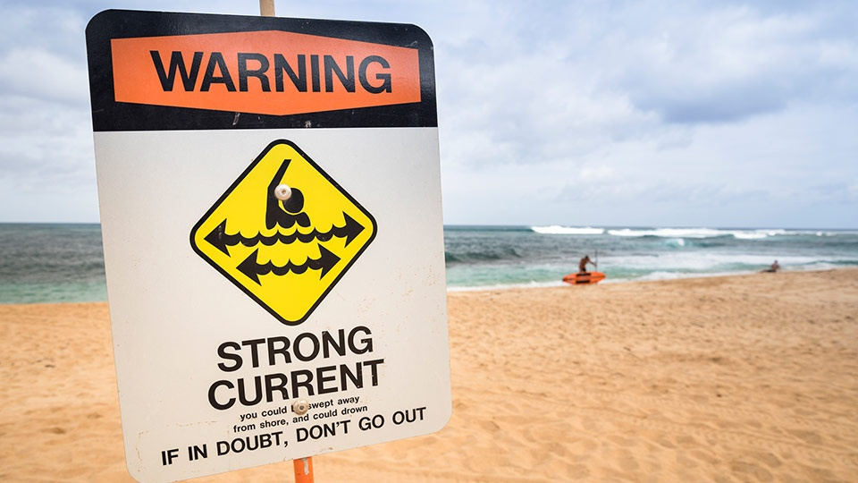 Maui Beach Safety Warning