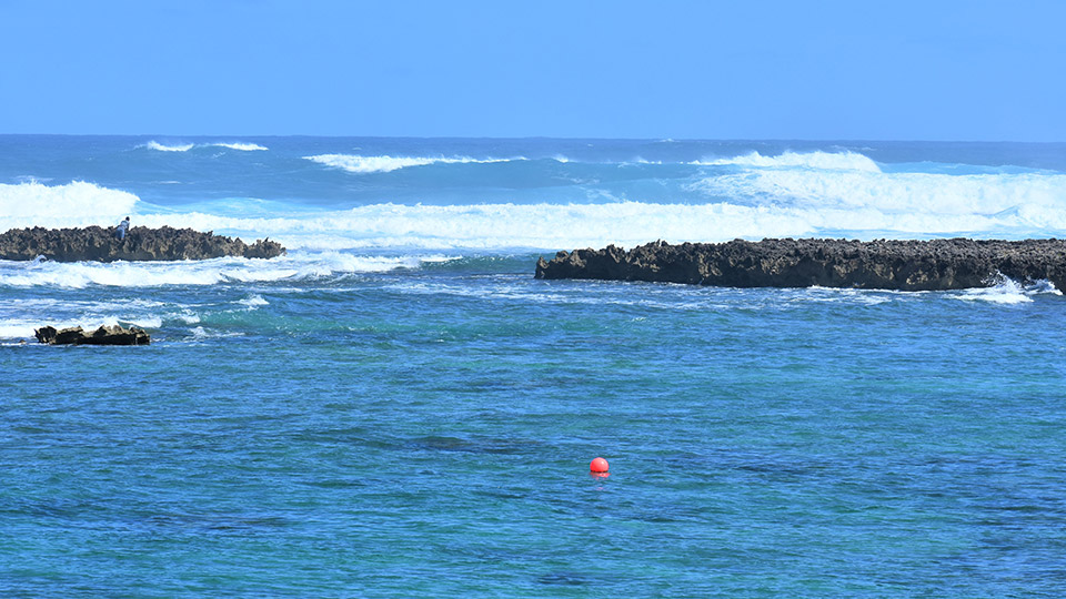 Blue Water in Kuilima Cove