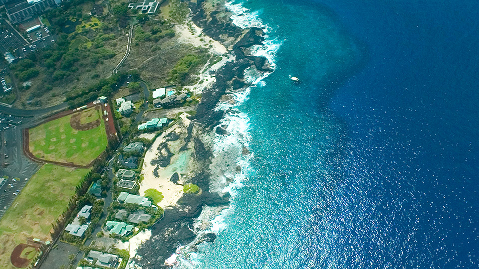 Aerial Photo of South Kona