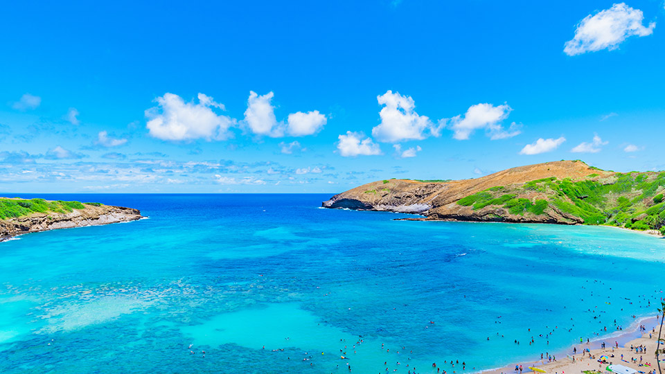 Beautiful View of Hanauma Bay