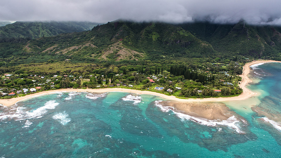 Na Pali Coast Shoreline