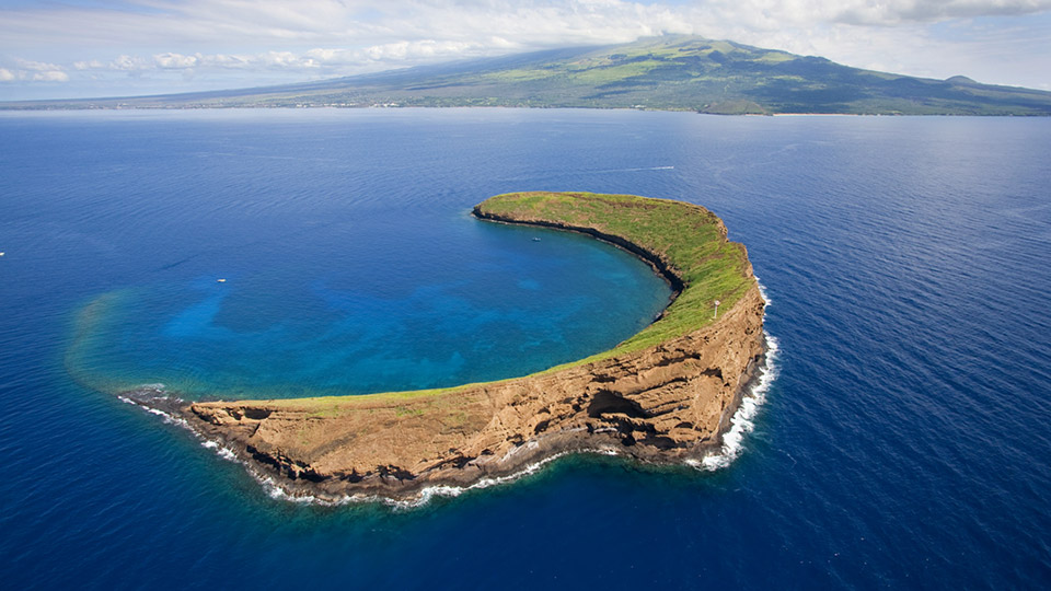 Molokini Crater Back Side