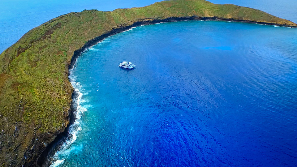 Pride of Maui at Molokini Crater
