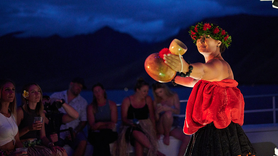 Pride of Maui's Maui Sunset Luau Dinner Cruise