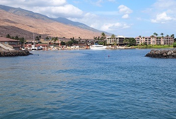 Maalaea Harbor, North Dock