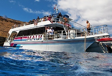 Pride of Maui vessel