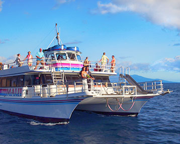 Private Charter on board the Pride of Maui.