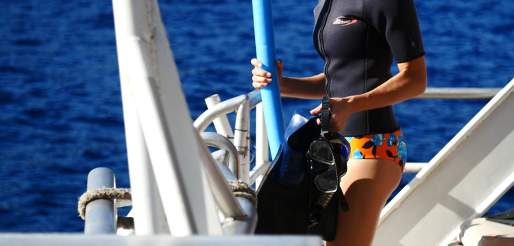 snorkel gear on board the pride of maui afternoon molokini turtle town tour