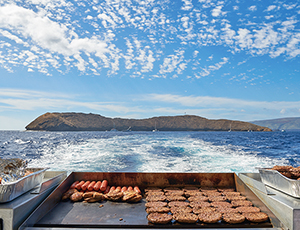 Lunch with Best Maui Morning Molokini Snorkel Cruise